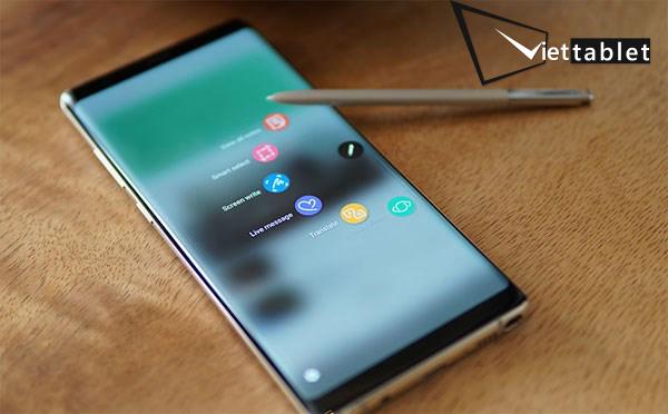Thay màn hình và mặt kính Samsung Galaxy Note 8