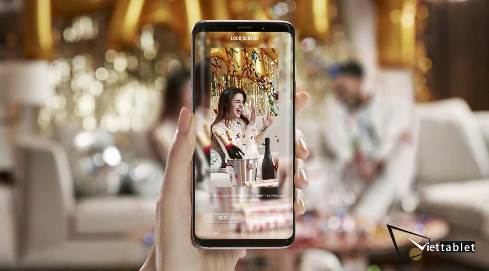 Galaxy S9 còn được trang bị công nghệ bảo mật Intelligent Scan