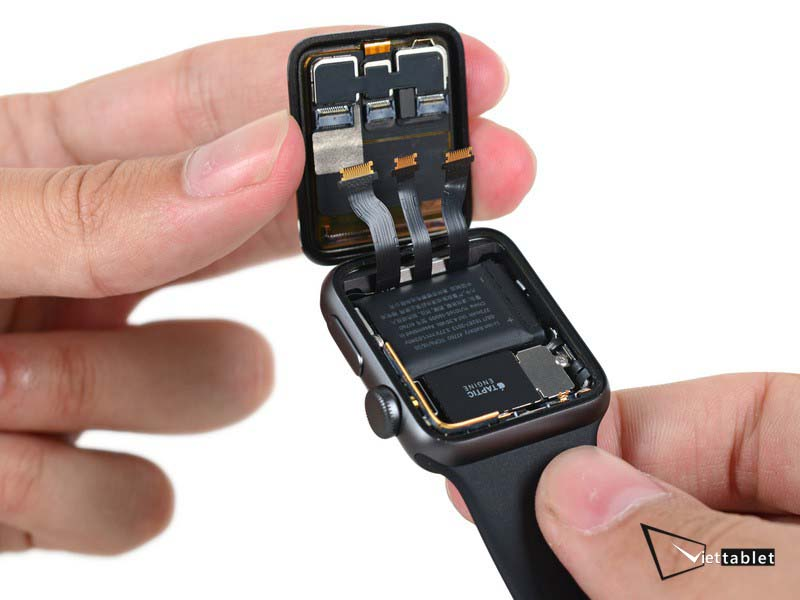 Nguyên nhân gây chai pin và hỏng pin Apple Watch