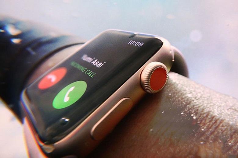 Kiểm tra mặt kính Apple Watch