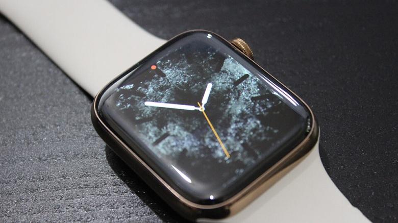 màn hình Apple Watch S4 (40 mm) bản thép 99%