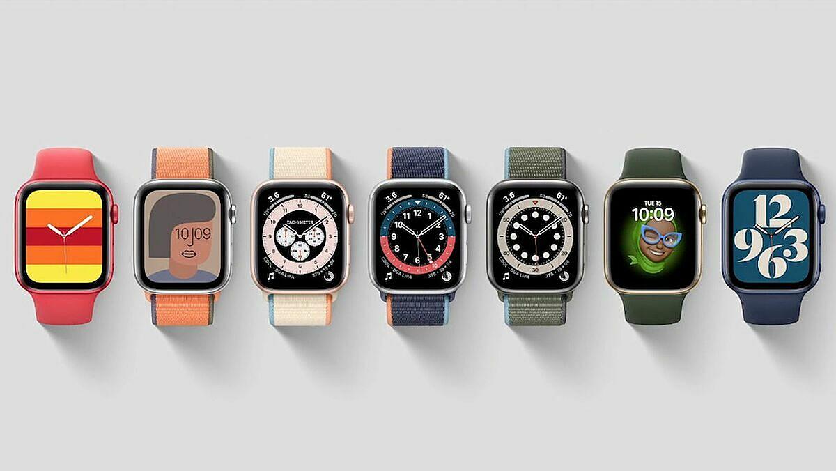 7 tùy chọn màu của apple watch se 44mm