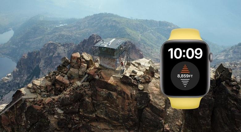 tính năng đo độ cao thực Apple Watch SE Esim 40mm