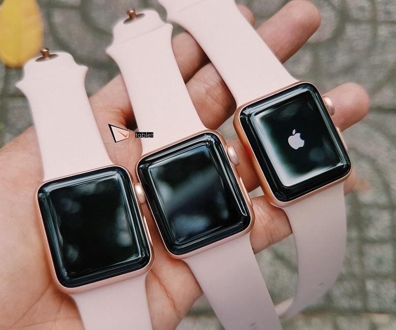 Apple Watch Series 3 (38mm) màu hồng siêu đẹp