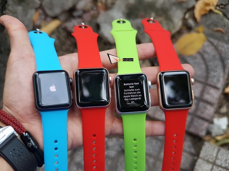 Trên tay Apple Watch Series 3 (38mm)
