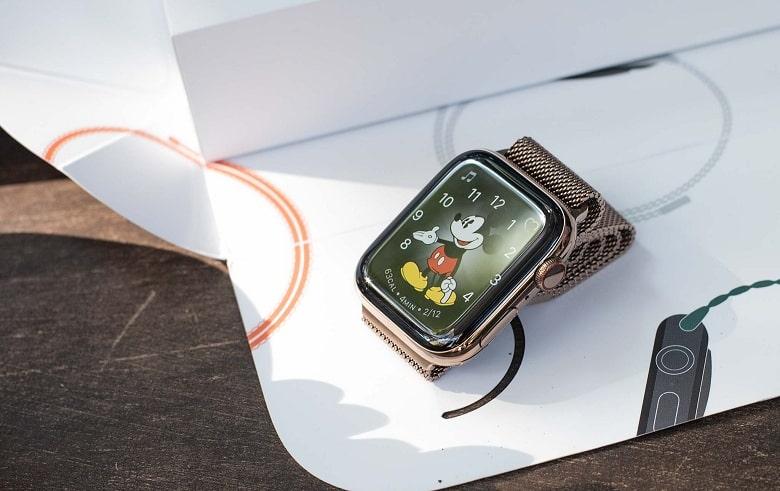 Màn hình Apple Watch Series 4 (44 mm) bản thép cũ