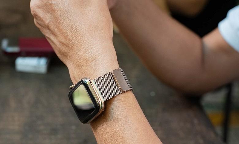 thiết kế Apple Watch Series 4 (44 mm) bản thép cũ