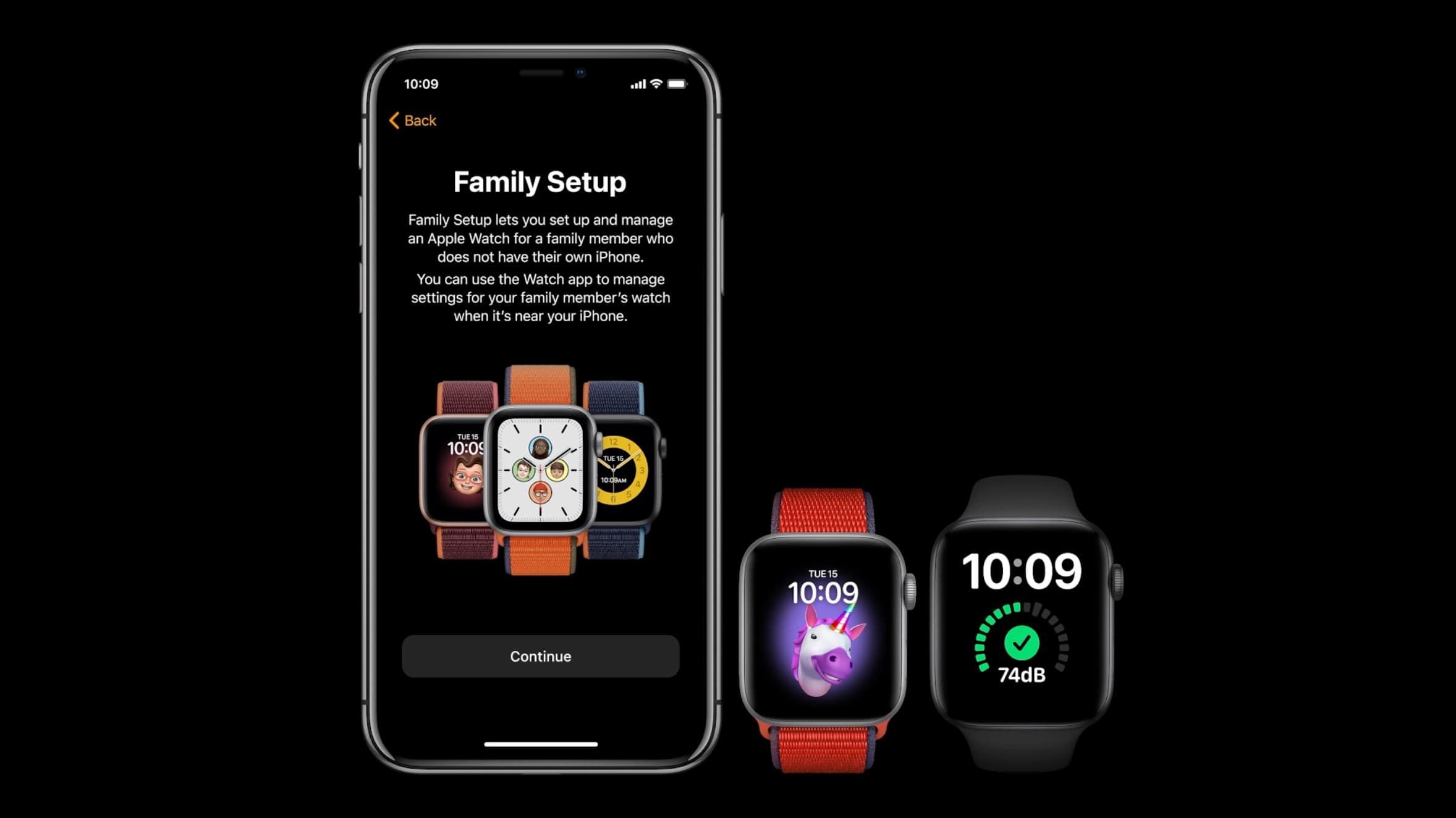 apple watch series 6 40mm bản nhôm family setup