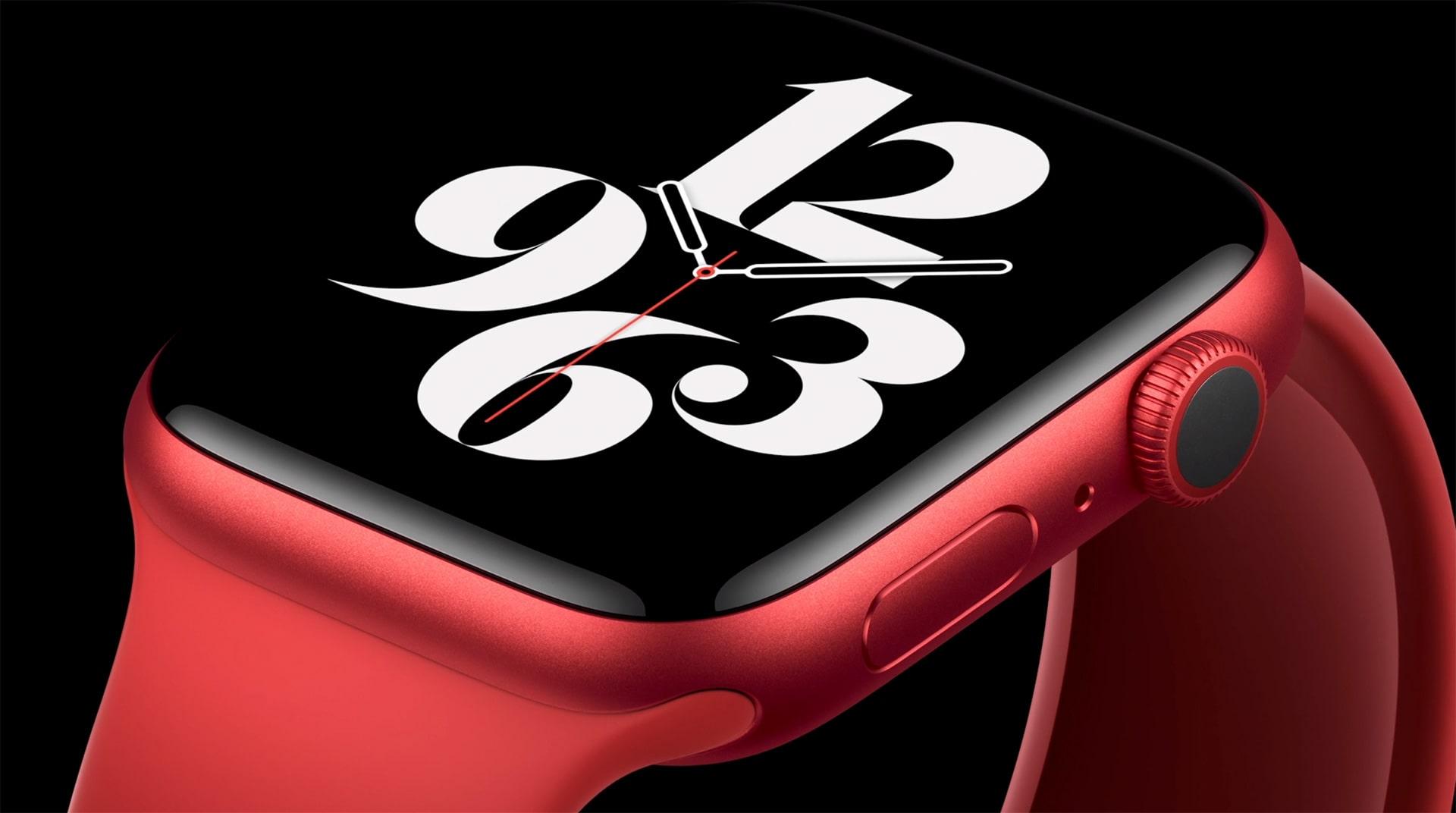 Apple Watch Series 6 40mm bản nhôm màu đỏ