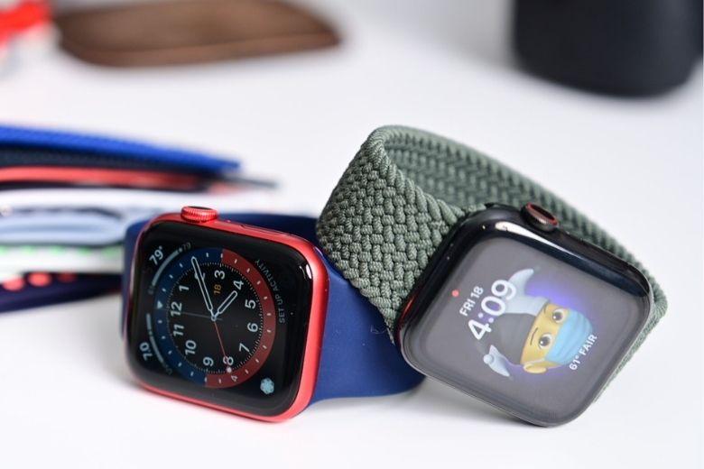 ngoại hình apple watch series 6