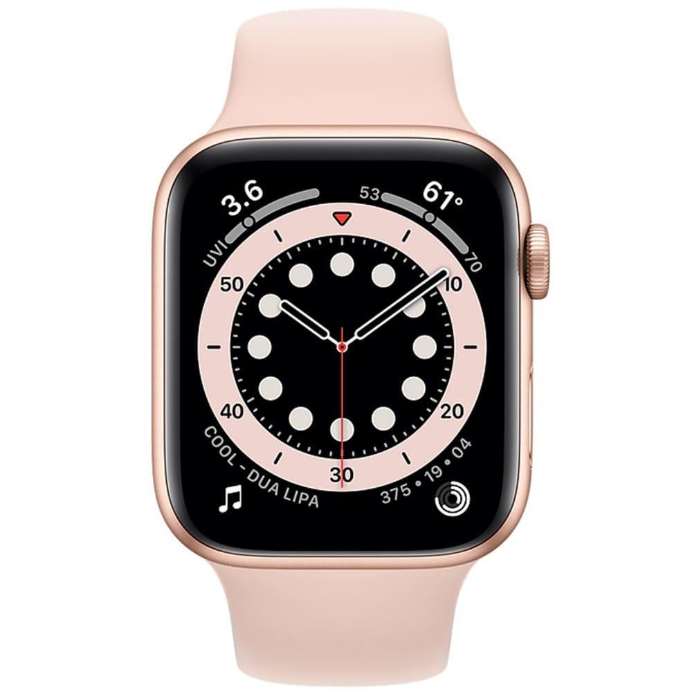 Apple Watch Series 6 44mm bản thép thiết kế