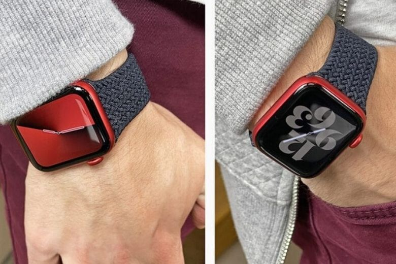 Apple Watch Series 6 eSIM 40mm bản nhôm trên tay