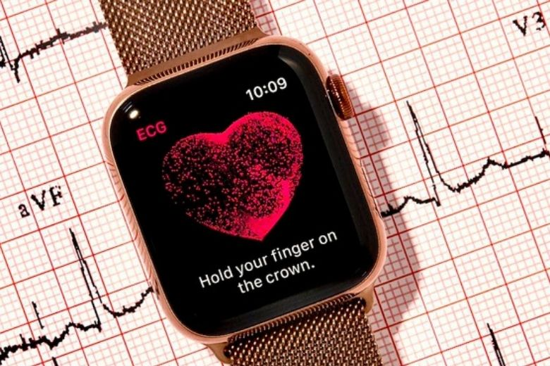 Apple Watch Series 6 eSIM bản thép 44mm ECG