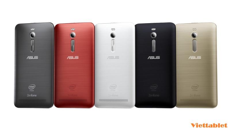 Điện thoại Asus Zenfone thiết kế mặt sau