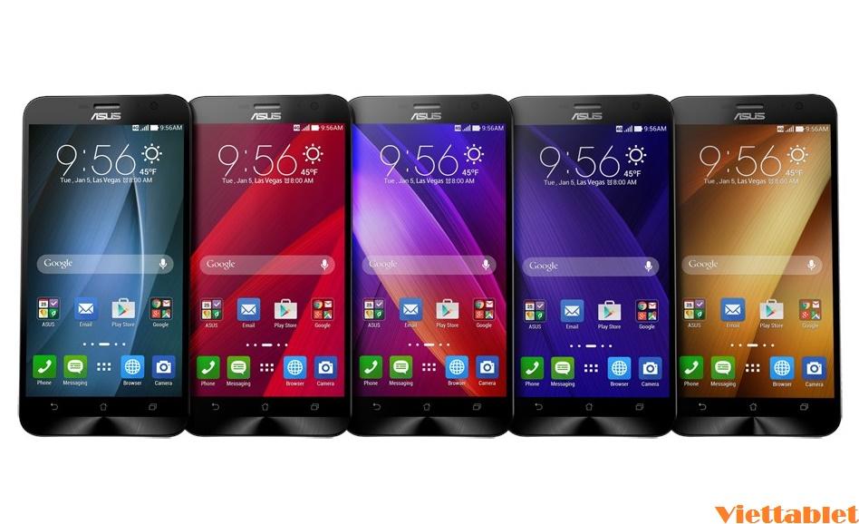 Điện thoại Asus Zenfone 2 thiết kế