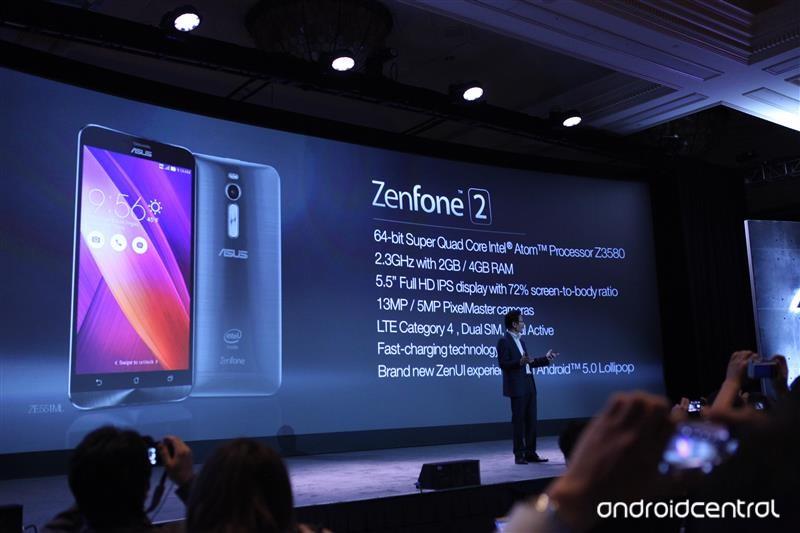 Điện thoại Asus Zenfone 2 2 sim cấu hình mạnh giá rẻ