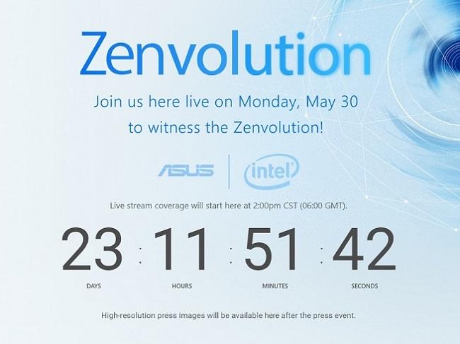 Thư mời ra mắt Asus Zenfone 3 đến giới truyền thông