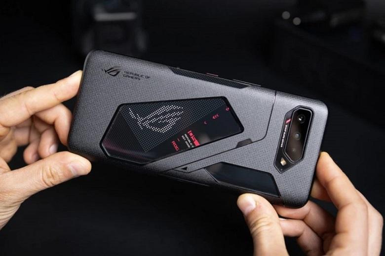 ASUS ROG Phone 5 thiết kế lưng