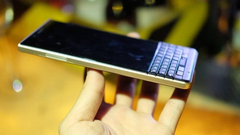 màn hình Blackberry Key2 LE có kích thước 4.5 inch