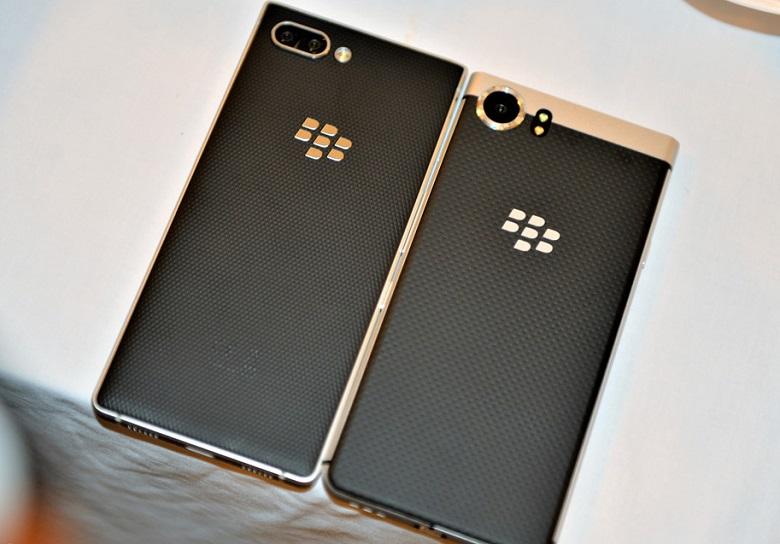 thiết kế Blackberry Key2