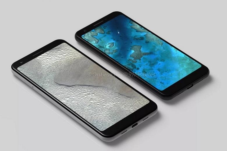 Google Pixel 3 Lite và Pixel 3 Lite XL không có tai thỏ