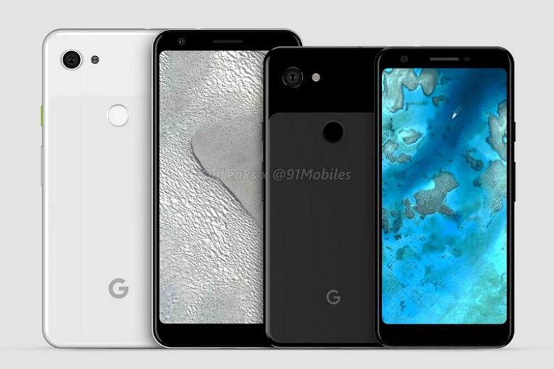 Hình ảnh mới nhất của bộ đôi Google Pixel 3 Lite và Pixel 3 Lite XL