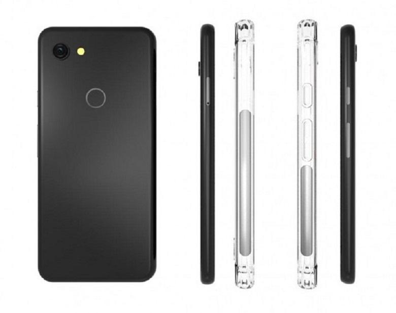 Hình ảnh ốp lưng của Google Pixel 3 Lite