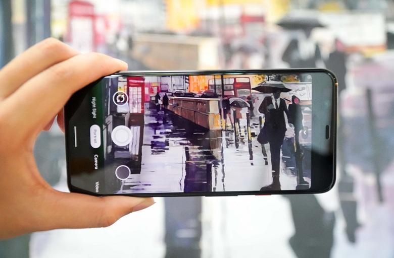 chụp ảnh trên Google Pixel 4 XL