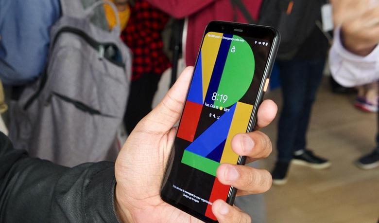 màn hình của Google Pixel 4 XL
