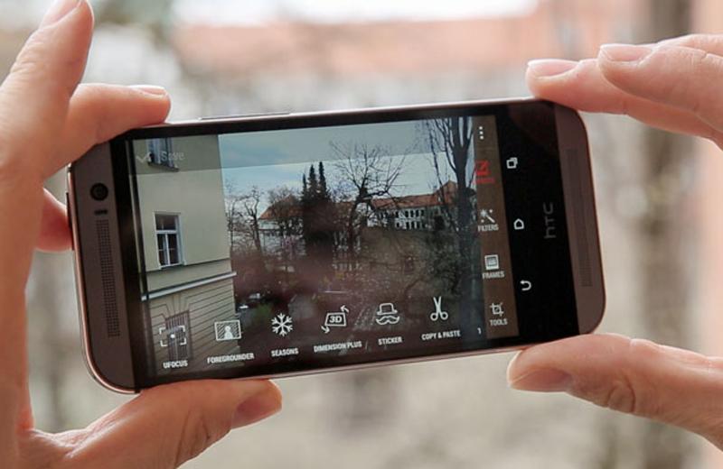 HTC One M8 Docomo camera kép
