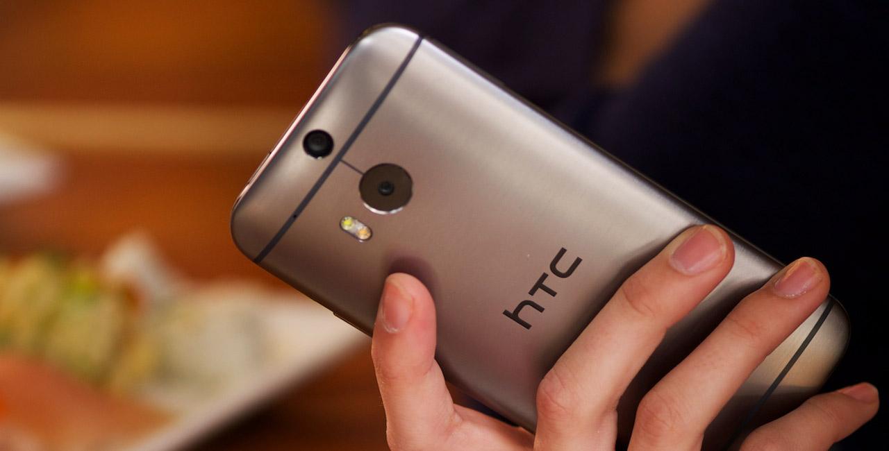 HTC One M8 Docomo thiết kế