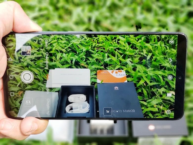 Huawei Mate 20 camera khủng