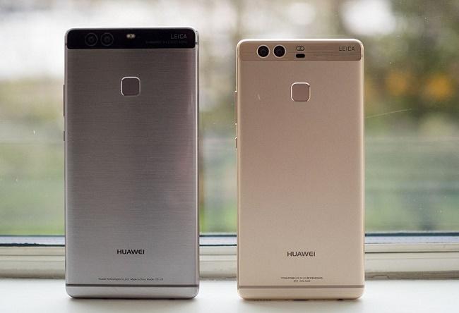 Huawei P9 Plus thiết kế sau