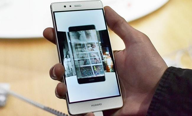 Huawei P9 32GB chính hãng thiết kế mặt trước