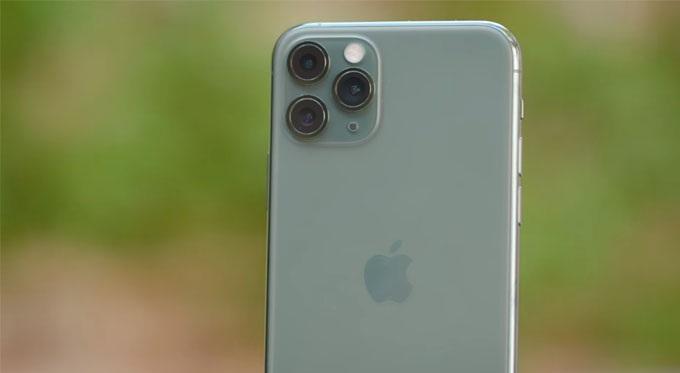 camera của iPhone 11 Pro cũ