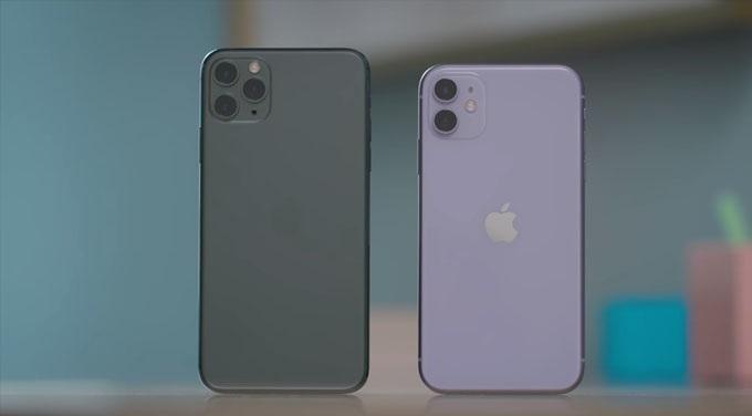 thiết kế iPhone 11 Pro cũ