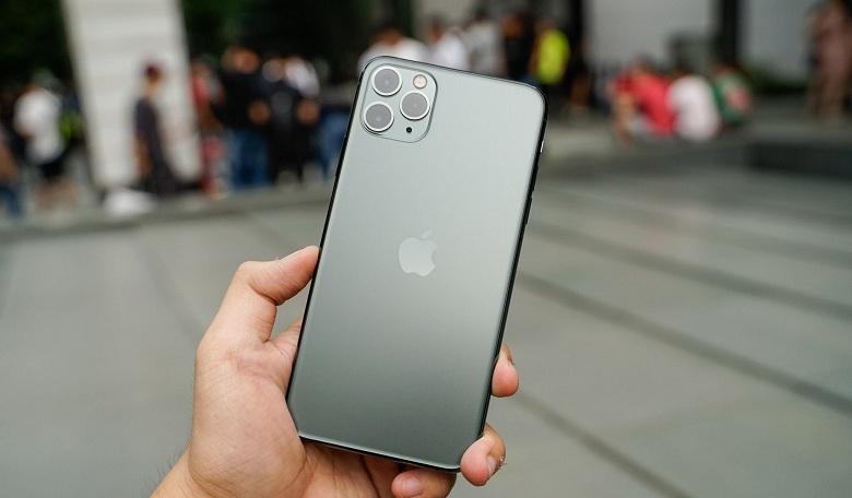 thiết kế iPhone 11 Pro Max cũ