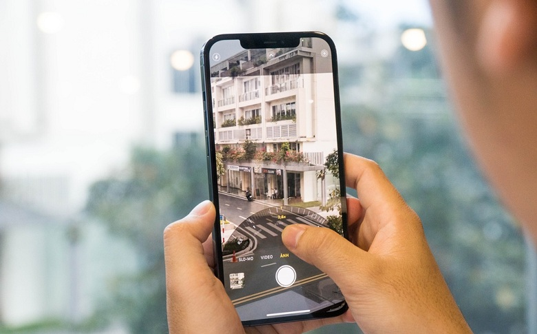 camera iPhone 12 Pro Max 128GB Chính Hãng