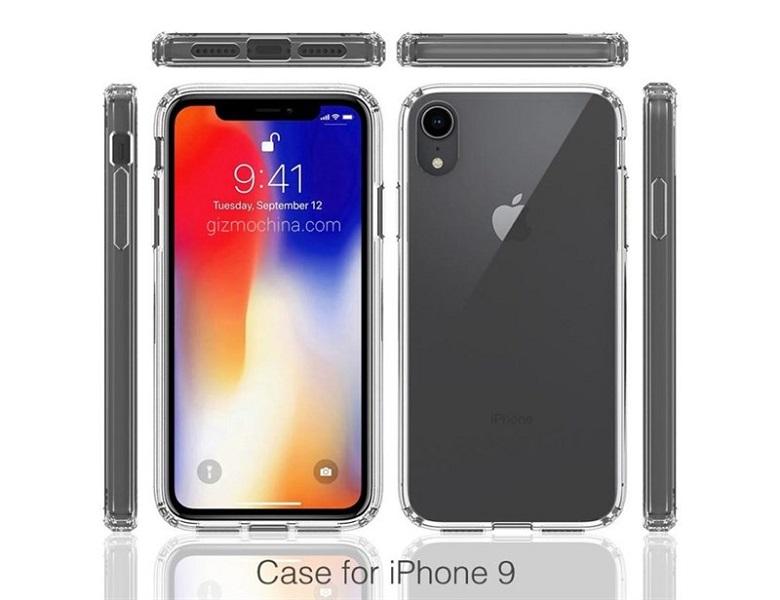 hình ảnh render mặt sau của iPhone 9
