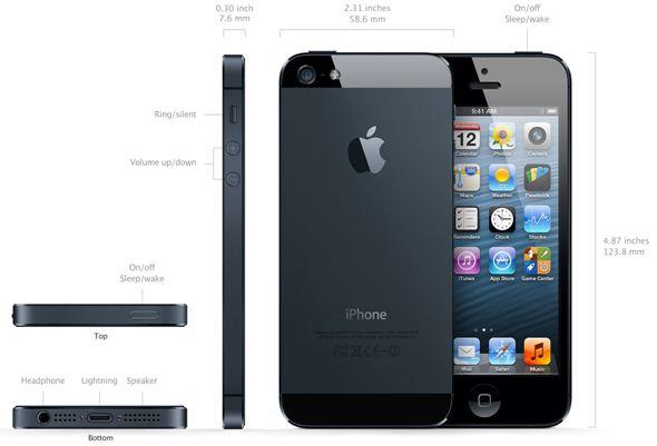iPhone 5 Lock Nhật thiết kế ấn tượng