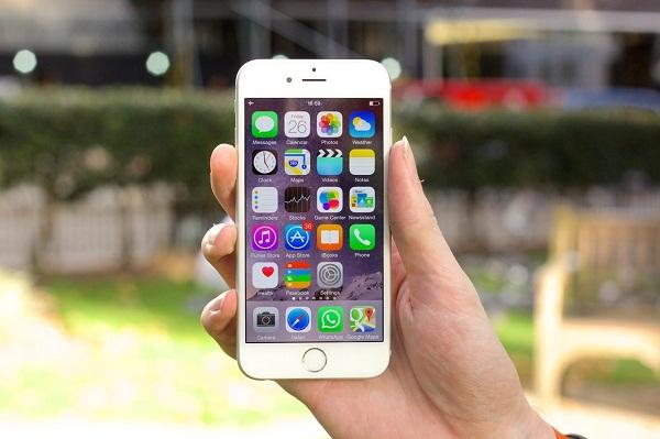 Màn hình sắc nét của iPhone 6 lock