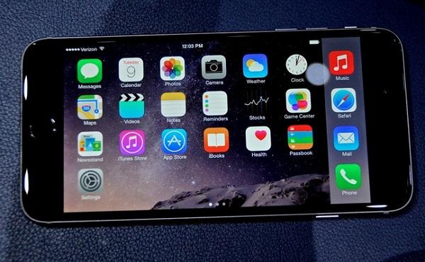Màn hình 5,5 inch cho hình ảnh sắc nét trên iPhone 6 Plus cũ like new