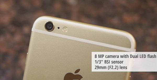 Camera iPhone 6 Plus Lock cho chất lượng ảnh chụp đẹp, sắc nét