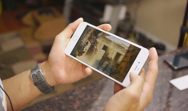 Giải trí cực đã trên iPhone 6 Plus Lock