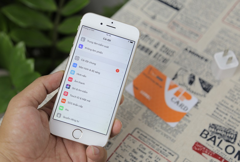 iPhone 6 Cũ 16GB Like New có cấu hình ấn tượng