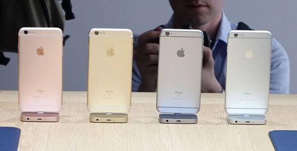 iPhone 6S 16GB Quốc Tế Cũ mặt sau