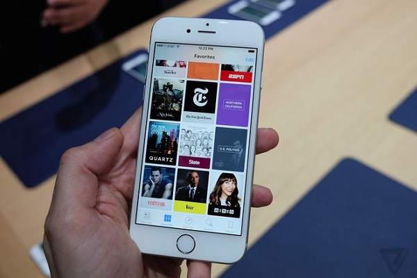 Cấu hình xuất sắc của iPhone 6S