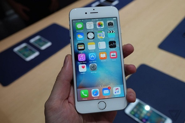 Màn hình iPhone 6S cho hiển thị xuất sắc trên từng chi tiết
