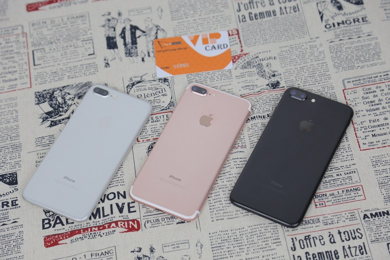 iphone 7 plus trôi bảo hành giới thiệu