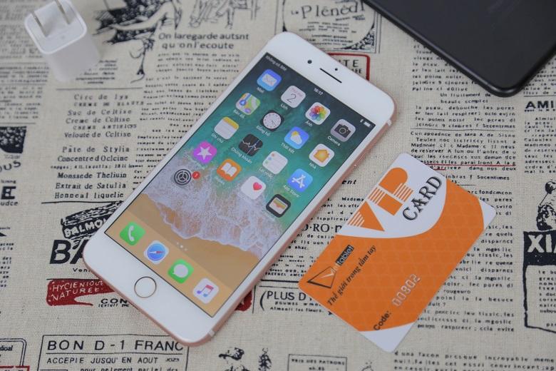 iphone 7 plus trôi bảo hành màn hình